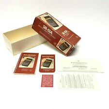 Vintage Texas Instruments Slide Rule Calculator SR-51A Box And Manual