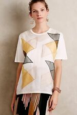 NEW Anthropologie Silk Origami Top by Nocturne Size 12
