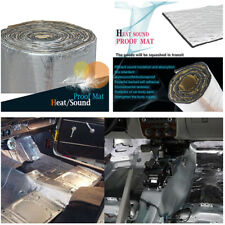 Car Heat Shield Insulation Sound Deadener Silver for Car Panels Trunk Lid Roof