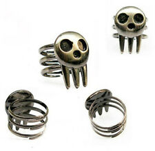 Hot New Soul Eater Death The Kid Cosplay Ring Silver 1 Pcs