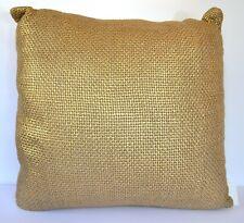 Ann Gish Glaze Metallic Gold Woven Pillow
