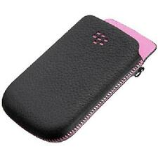 RIM HDW-31015-002 Leather Pocket Black Pink For BlackBerry Torch 9800 9810 Girly