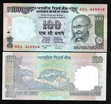 "Rs 100/- 1990s India Banknote C. RANGARAJAN ""L"" GANDHI GEM UNC RARE"