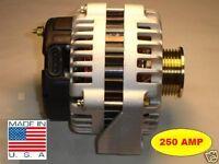 250 AMP  BUICK ISUZU SAAB Alternator 9-7X ASCENDER RAINIER HIGH OUTPUT NEW 5.3L