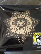 Sheriff Rick Grimes Badge LARGE FULL SIZE HEAVY LIMITED EDITION THE WALKING DEAD
