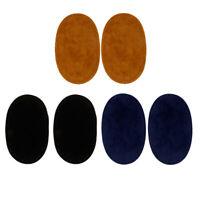 3 Paar Knieflicken Flicken ovale Flicken Applikation für Ellenbogen