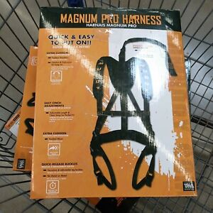 Muddy Outdoors Magnum Pro Padded Adjustable Treestand Harness System, Black