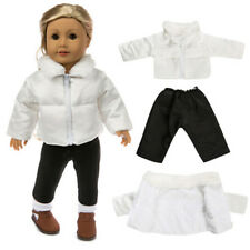 Doll Clothes Fit 18in American Girl Doll baby born Warm Jackets+Pants Kids   R