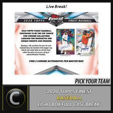 2020 Caja de béisbol 8 TOPPS FINEST (Completo Funda) romper #A958 - Elige Tu Equipo