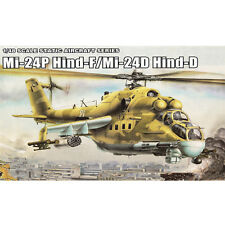 MiniHobby 80311 1/48 Mi-24P Hind-F/Mi-24D Hind-D Helicopter Assembly Model Kits