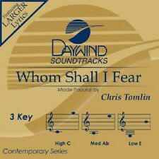 Chris Tomlin - Whom Shall I Fear - Accompaniment CD New