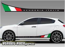Alfa Romeo Giulietta Imprimé Racing Stripes 002 Scuderia Italia Graphics decals