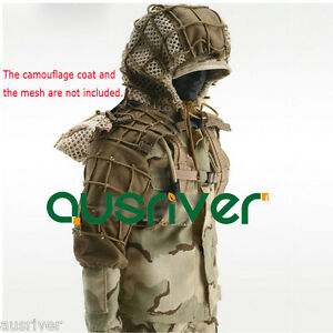 New Hooded Sniper Hunting Paintball Army Military Ghillie Suit Yowie Camouflage