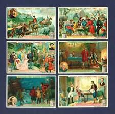 LIEBIG - RARE SET OF 6 CARDS - S  901  /  F  901  -  FAMOUS  MERCHANTS  -  1907