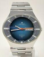 Orologio Lorenz automatic perpetua watch caliber eta 2789 clock vintage rarissim