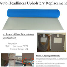 Automotive Headliners Replacement Peel off Blistering drooping Repairs 72
