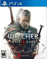 The Witcher 3 - Wild Hunt (PS4) - MINT - Super FAST & QUICK Delivery FREE