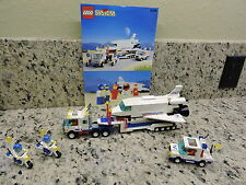 Lego Town Flight Space Shuttle Launching Crew (6346) Complete With Instructions