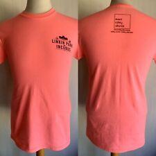 LINKIN PARK & INCUBUS (2012) Honda Civic Tour Pink RARE STAFF T-Shirt Size Small