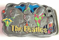Beatles Belt Buckle Yellow Submarine pewter LTD ED numbered RARE