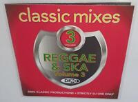 DMC CLASSIC MIXES I LOVE REGGAE & SKA VOL 3 DJ REMIX SERVICE MEGAMIX CD
