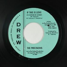 Northern Soul 45 - Precisions - If This Is Love - Drew - mp3