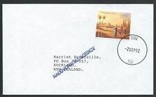 FIJI 1992 cover NACOVI POSTAL AGENCY s/line................................50631