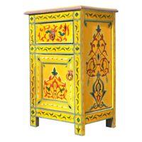 Orientalische Kommode Arabischer Schrank Marokko Orient Handarbeit Sideboard 01