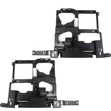 Chevrolet Silverado 99-02 Right & Left Pair Set Headlight Headlamp Brackets