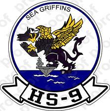 STICKER USN HS  9 SEA GRIFFINS