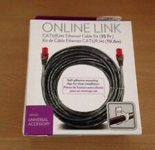Nyko Online Link CAT5 RJ45 35 ft Network Ethernet Cable Kit