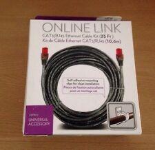 Nyko Online Link CAT5 RJ45 35 ft Network Ethernet Cable Kit