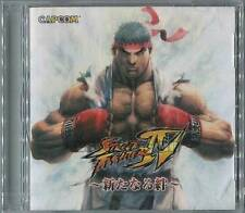 STREET FIGHTER IV DVD CAPCOM NOT FOR SALE RARE NEW Sony PlayStation 3