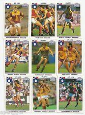 1992 Regina BRISBANE BEARS Team Set (9 cards)