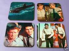 Voyage to the Bottom of the Sea Drinks COASTER Set