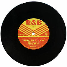 """BOBBY KING with Orchestra  """"THANKS MR. POSTMAN""""    CLASSIC R&B    LISTEN!"""