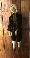 ANTIQUE / VINTAGE WOODEN ARTICULATED PUPPET.