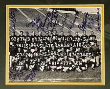 1961 GREEN BAY PACKERS PHOTO SIGNED BY 12 BART STARR,McGEE,KRAMER,HORNUNG+ JSA