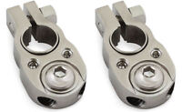2 x Stinger Select Dual 8 Gauge Ring Battery Terminal Power Ground Top Post SSBT