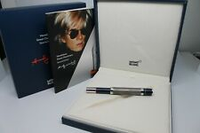 MONTBLANC GREAT CHARACTERS ANDY WARHOL ROLLERBALL LIMITED EDITION