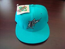 FLORIDA MARLINS DIAMOND-COLL FITTED  7 1/8 NEWERRA VINTAGE HAT CAP 1990'S WOOL