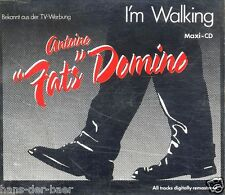 "Antoine ""Fats"" Domino - I'm Walking ♫ Maxi-Single-CD von 1992 ♫ Fats Domino ♫"