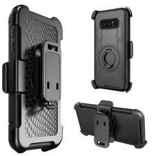 Shockproof Rugged Hybrid Armor Case Cover with Stand Holster Belt Clip for Note8