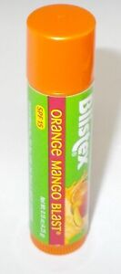 BLISTEX Lip Moisturizer SPF 15 ORANGE MANGO BLAST New & Factory Sealed