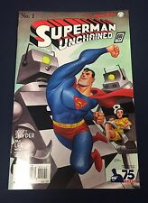 SUPERMAN UNCHAINED #1 : 1:100 BRUCE TIMM VARIANT : DC 2013 : 1930 SUPERMAN