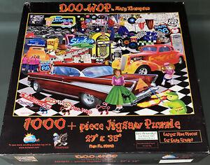 Sunsout Doo - Wop Mary Thompson Artwork 1000 Piece Jigsaw Puzzle Hotrod Cafe Art