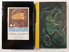 Green Mansions by W H Hudson. 1944 reprint w/slipcase. E McKnight Kauffer Illus.