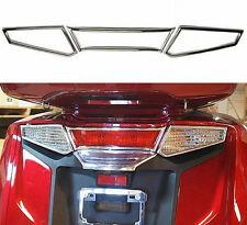 Chrome Tail Light / Turn Signal Trim for Honda GL1800 Goldwing - 2012+ (45-1897)
