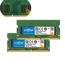 32 ГБ-Crucial 2x16GB 1RX8 DDR4 PC4-2666V/MHz PC4-21300S Sodimm Laptop Memory Ram