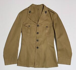 Original 1920s USMC Tropical Tunic With 1930s Droopy Wing EGA